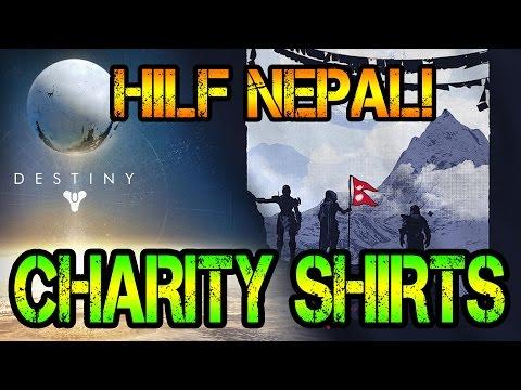 CHARITY SHIRTS - Hilf Nepal!   Destiny: News (German) [HD]