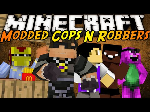 Minecraft Modded Cops N Robbers : ROSSOME FOOD MOD!