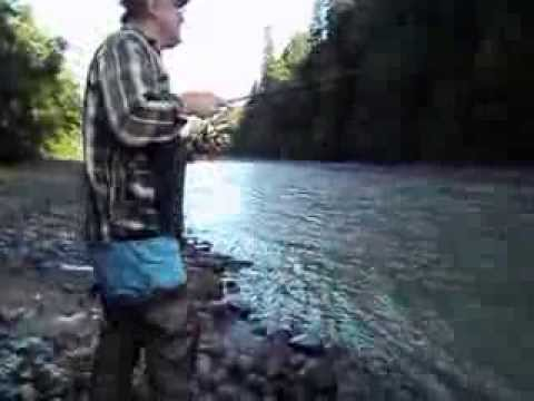 King pink salmon fishing carbon river orting wa for Sac bee fishing line