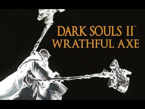 Dark Souls 2 Wrathful Axe Tutorial (dual wielding w/ power stance)