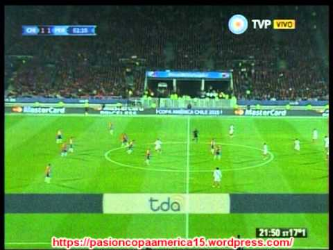 (Emocionante Relato) Chile 2 Peru 1 (Radio Cooperativa Chile) Copa America 2015