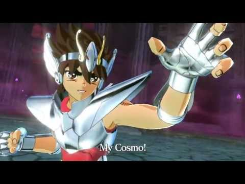 Saint Seiya: Brave Soldiers videogame trailer by Namco Bandai (Caballeros del Zodiaco)