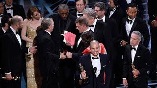 Oscars oops: