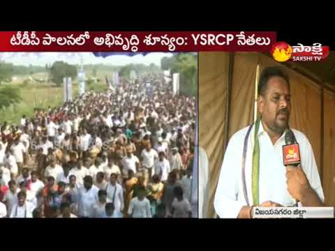 Face to Face With YSRCP Leaders in Chipurupalli || Sakshi TV