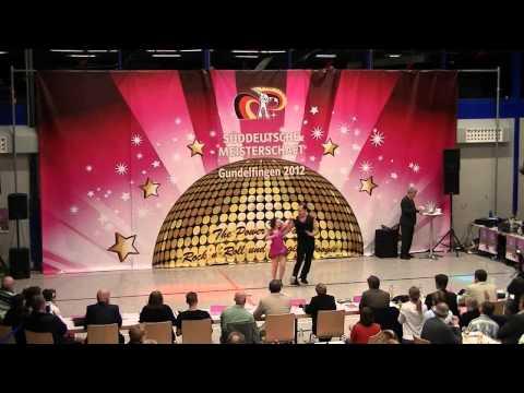 Kathrin Mayrock & Frank Engelniederhammer - Süddeutsche Meisterschaft 2012