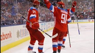Finland Vs Russia | 2016 World Cup of Hockey | Highlights