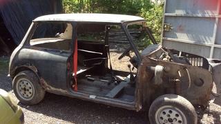 Classic Mini/Car Restoration Time Lapse