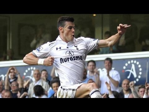 Gareth Bale unstoppable Goal HD | TOT 1 - SUN 0