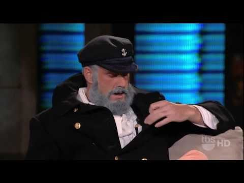 SF Giants Pitcher Brian Wilson on George Lopez Tonight - Sea Captain Date