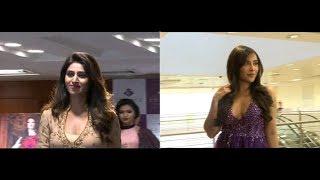 Dhee 10 I Anchor varshini II looking gorgeous in Hi life fashion show