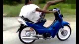 Cao thủ trên xe máy