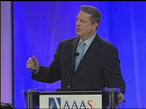 Al Gore at the 2009 AAAS Annual Meeting (Pt 1/6)