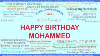 Mohammed   Languages Idiomas - Happy Birthday