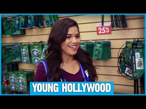 Shopping On Set with America Ferrera and SUPERSTORE Cast!