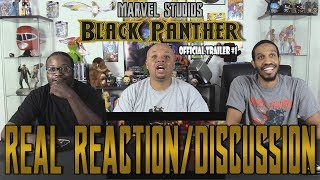 Black Panther Official Trailer #1....Real Reaction/Discussion