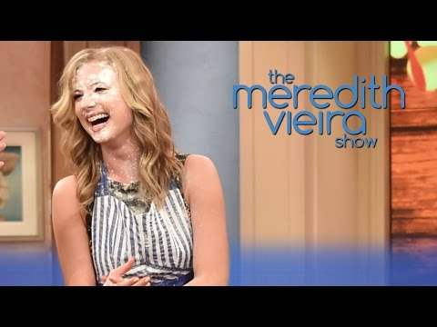 Emily VanCamp vs Meredith: Food Fight! | The Meredith Vieira Show