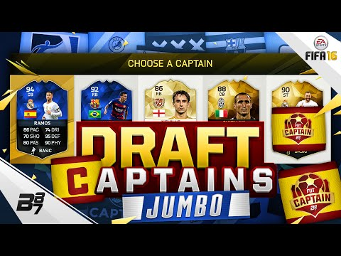 BEST FUT DRAFT CAPTAINS! | JUMBO DRAFTS! CHEM SORTED? | FIFA 16 Ultimate Team