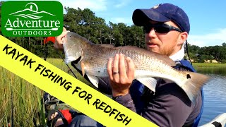 Kayak Fishing For Redfish In Eastern NC