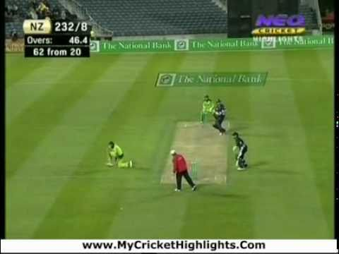 Pakistan vs New Zealand 3rd ODI Highlights
