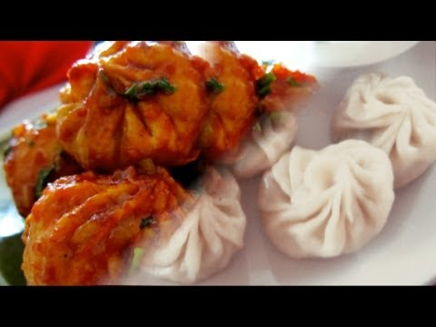 Veg. Momo - Fusion Chilli Momo  video recipe by Bhavna