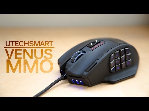 Best MMO Gaming Mouse? UtechSmart Venus Review