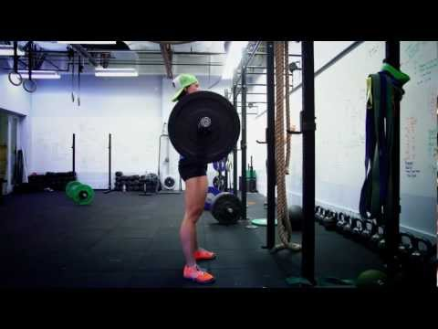 CrossFit - WOD 121212 Demo with Pat Sherwood and Miranda Oldroyd