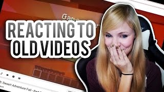REACTING TO OLD VIDEOS | 5 Years on Youtube