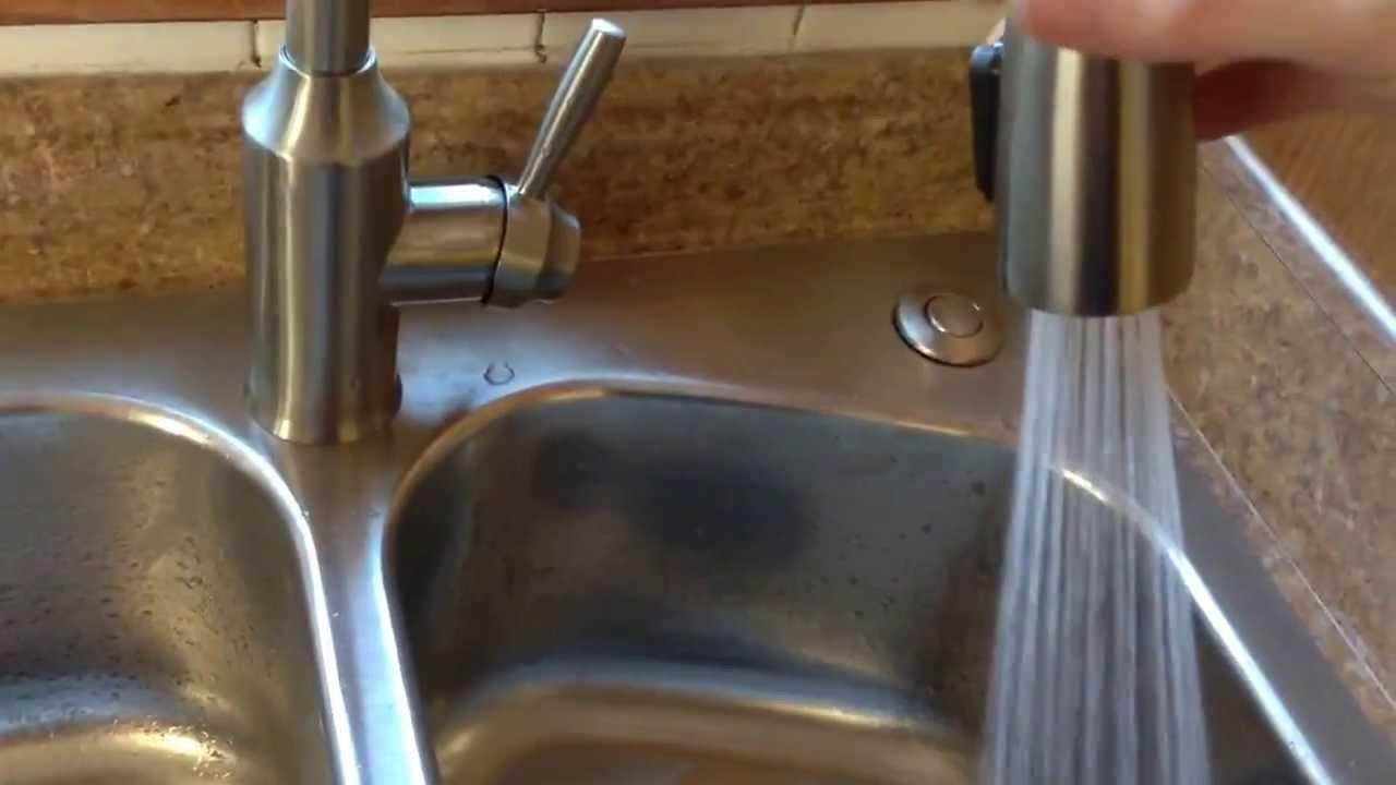 New Elkay Perfect Drain Sink With Insinkerator Disposal