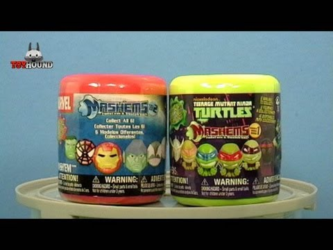 MARVEL  MASH'EMS and TMNT MASH'EMS CAPSULE REVIEWS