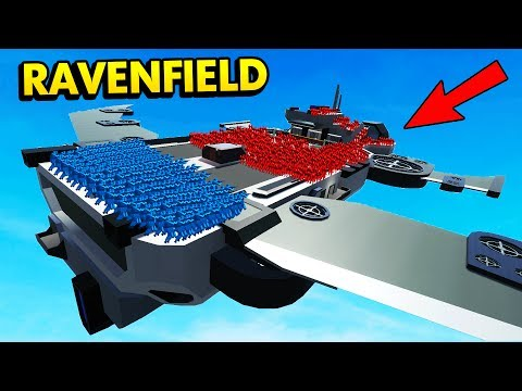 NEW FLYING SHIP LEVEL IN RAVENFIELD! (Ravenfield Funny Gameplay)