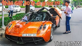 Review Pagani Huayra 3.500.000$ on the streets   SupercarVietnam