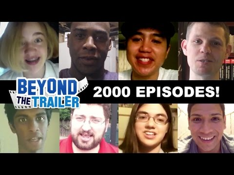 Beyond The Trailer celebrates 2000 episodes - with YOU!