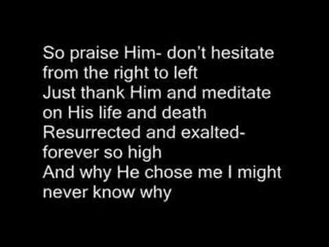 Shai Linne - My Portion (with lyrics)