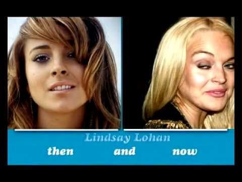 Lindsay Lohan – Then and NOW  2012 -face morph over the years-