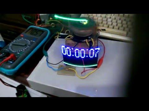 تخته سفید Arduino Persistence of Vision