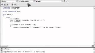 Simple C++ Exeption Handling Try-Throw-Catch Tutorial