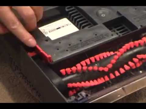 how to take apart a bissell proheat carpet cleaner