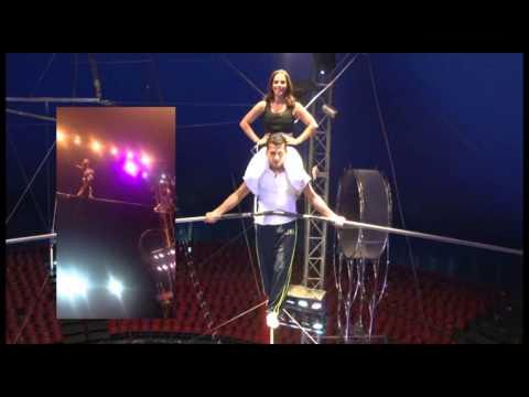 TVC Show Time: Paola Lazzaroni cumple reto de altura en el circo