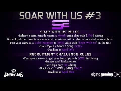SoaR With Us #3 + Recruitment Challenge (Thanks for 300k Part 1 of 3)