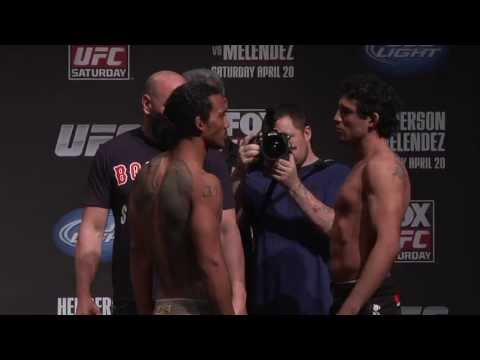 UFC on FOX 7: Henderson vs. Melendez Weigh-in Highlight