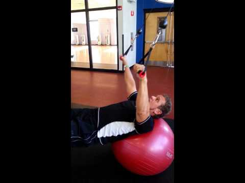 Chest, Back, and Core Exercise Sequence / Free Motion Dual Cable Machine with Trainer Tom Wildt