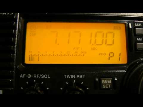7171khz,Ham Radio,K2BQ(Labelle, FL,USA) 00-08UTC.