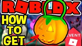 HOW TO GET THE PUMPKIN TRICK OR TREAT PALE IN Roblox Halloween Event 2018