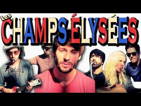 Les Champs-lyses - Walk off the Earth Music Videos