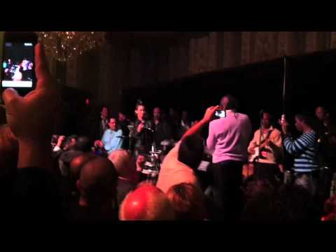 Butterscotch rocks the mic with Earth Wind & Fire at the 2011 Monster Awards After Party Celebrating the 40th Anniversary of EWF. In this video: Butterscotch...