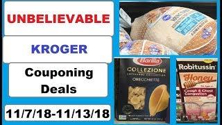 UNBELIEVABLE Kroger Couponing Deals!- 11/7/18-11/13/18