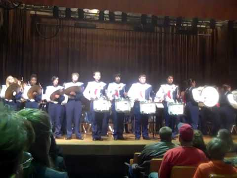 North Dorchester High School NDHS Winter Concert 2013