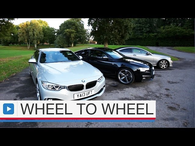 Audi A5 coupe vs BMW 4 Series coupe vs Mercedes ... - YouTube