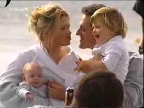 Michael Schumacher und seine Familie