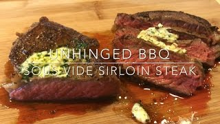 Sous Vide Sirloin Steak Recipe | ubbq
